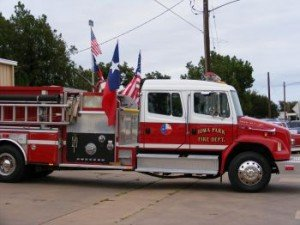 Iowa Park Fire Truck